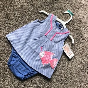 Baby Girl Carters Outfit